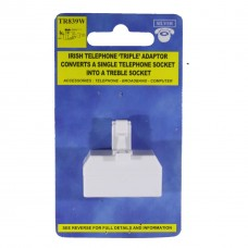 Silver Treble T Bar Adaptor