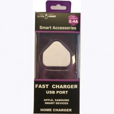 UltraPower 2.4 Amp Fast Charging USB Plug