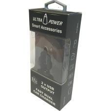 Ultrapower Dual Car Adaptor 2.1 & 1.0