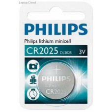 Philips CR2025 Button Cell Battery