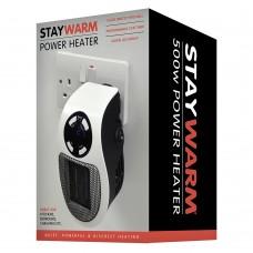 StayWarm 500w Plugin Power Heater