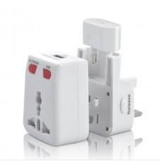 Universal USB Travel Adaptor with USB Charging Port