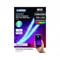 Status 5 Metre LED RGB Light Strip with Wi-Fi Control