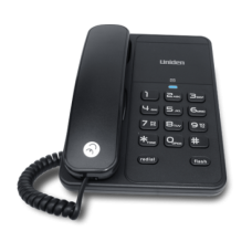 Uniden 7203 Basic Desk Phone- Black