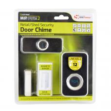 Lloytron MiP2 Retail/Shed Security Mag Sensor + Plug-in Door Chime - Black