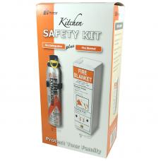 Ei 006 Fire Safety Kit (Extingusher & Fire Blanket)