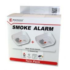 Ei 100 BD Smoke Alarm Twin Pack