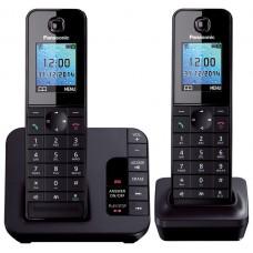 Panasonic KX TGH 222 Twin Dect Phone With DIgital Answering Machine