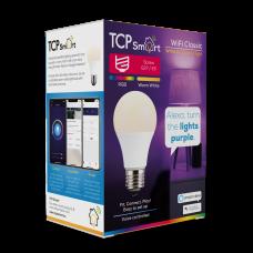 TCP Smart Wi Fi LED 2700 & RGB E27 Classic Bulb Colour Changing