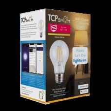TCP Smart WiFi LED Filament 2700K Dimmable Classic E27 light bulb